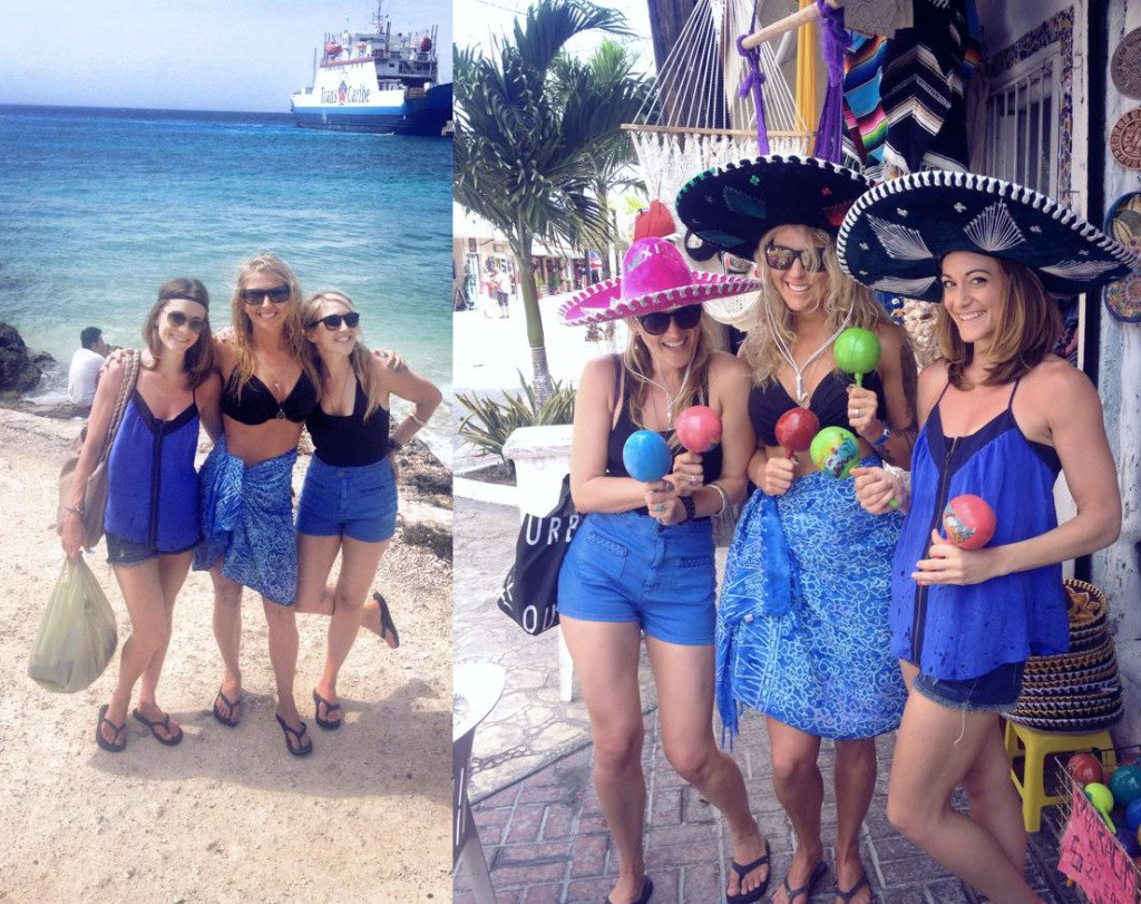 Jaclyn, Meredith and myself in Mexico for the Success Club trip that we all earned for free earlier this year in March.