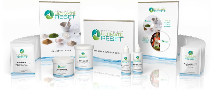 Beachbody Ultimate Reset Review - what's in the box