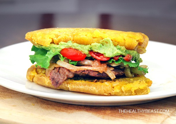 Paleo plantain Sandwich recipe