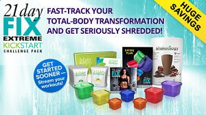 21 Day Fix Extreme Kickstart on Sale