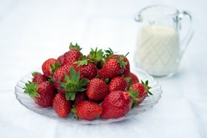 Strawberries and cream recipe