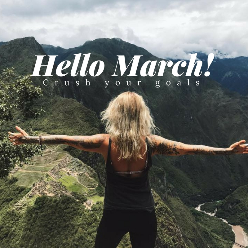 make your march goals