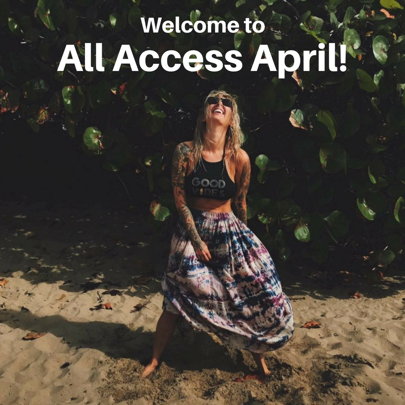 Super Special All Access April!