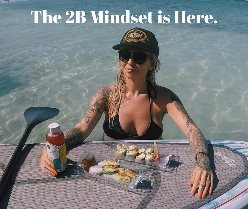 How do I change my relationship with food? The 2B Mindset is here.