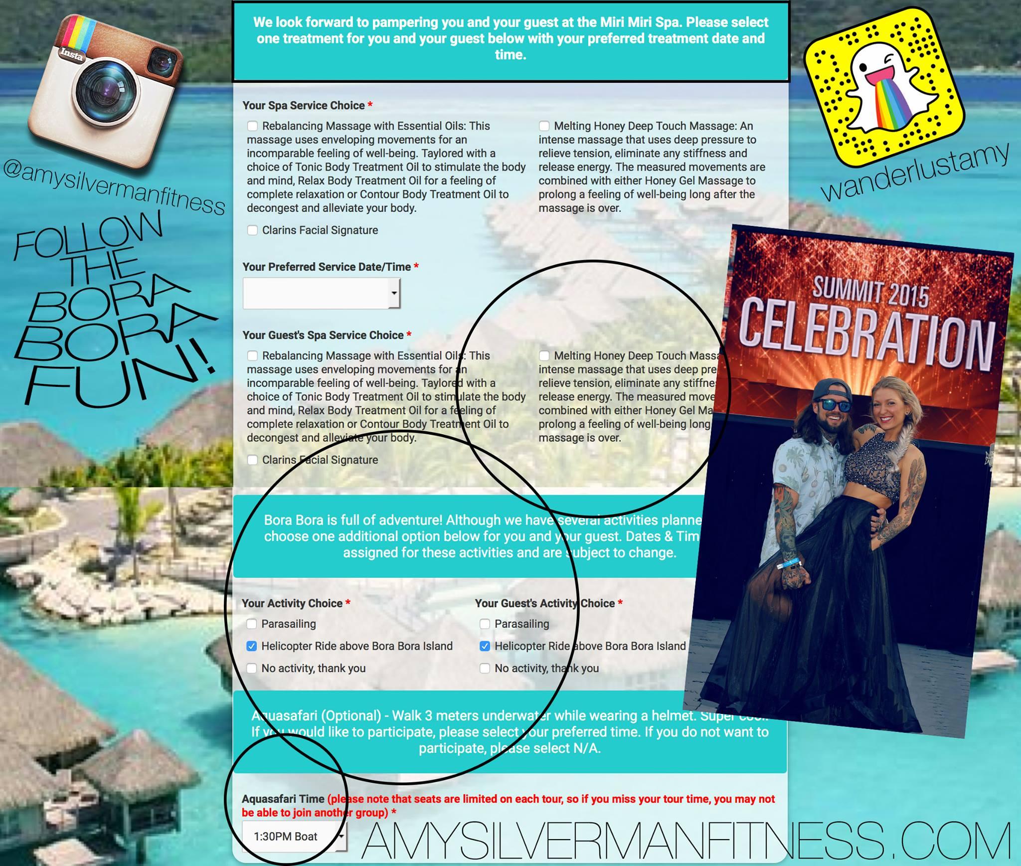 Beachbody Bora Bora Vacation! Follow our adventure!